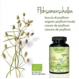 Psyllium Organic 180 capsule, reduce pofta de mancare, opreste foamea, taie foamea