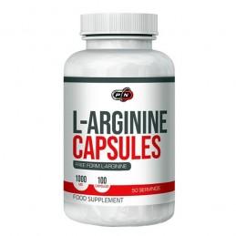 Pure Nutrition USA L-Arginina 1000 mg 100 capsule, pentru potenta Beneficii L-Arginina: ajuta la cresterea nivelului de Oxid Nit