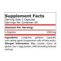 L-Arginina 1000 mg 100 capsule