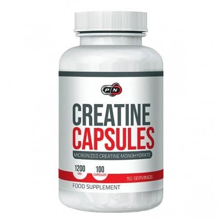 Creatina 1200 mg 100 capsule (Creatina Micronizata monohidrat)