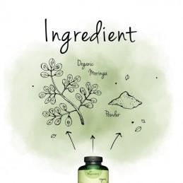 Moringa Oleifera Organic 300 capsule