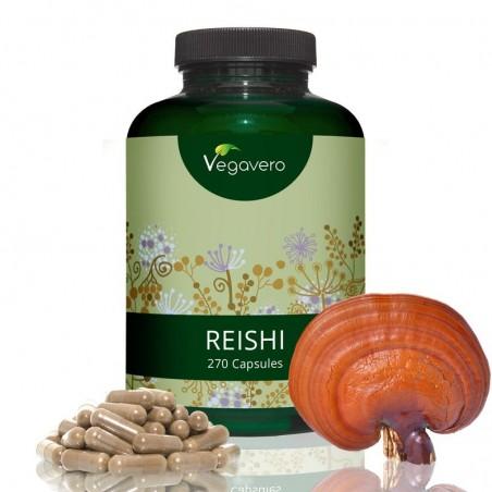 Vegavero Reishi Ganoderma extract 270 Capsule