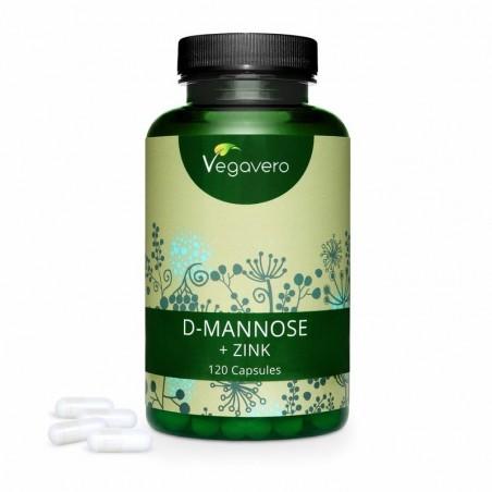 Vegavero D-Mannose + Zinc 120 Capsule