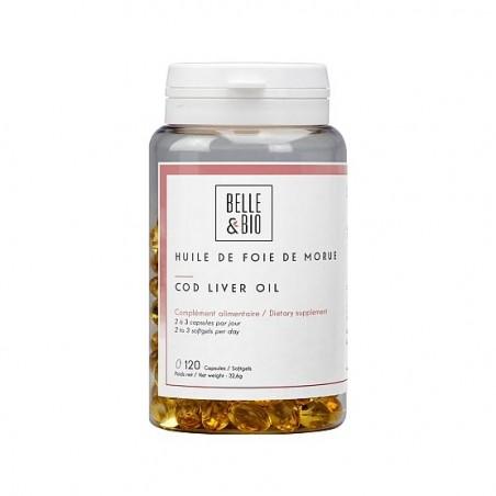 Belle&Bio Ulei din ficat de cod 120 Capsule