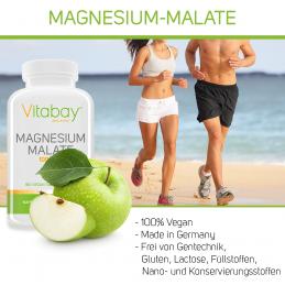Magneziu Malat 1000 mg - 180 Tablete Vegan