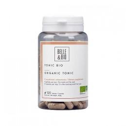 Tonic Organic 120 Capsule. Maca, Ginseng Rosu, ghimbir, Guarana