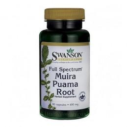 Swanson Muira Puama Radacina 400 mg 90 Capsule (Libidou, afrodisiac, potenta) Beneficii Radacina Muira Puama: imbunatateste func
