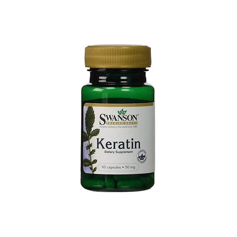 Swanson Keratin 50 Mg 60 Capsule