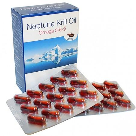 Neptune Krill Oil, Omega 369, 60 Capsule