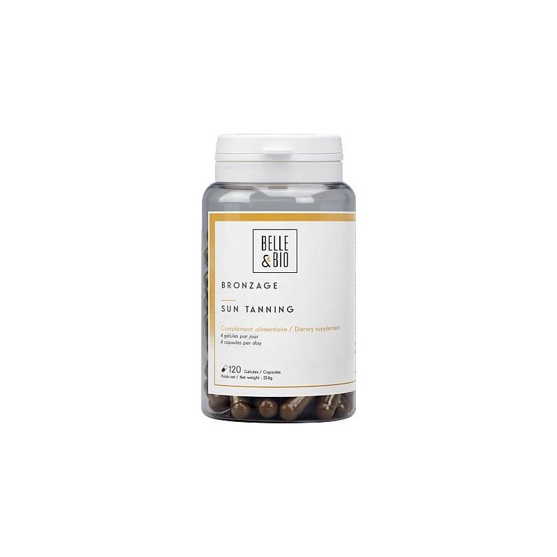 Belle&Bio Bronzage, (capsule de bronzare sau capsule autobronzante), 120 capsule