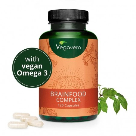 Vegavero Brainfood Complex 120 Capsule