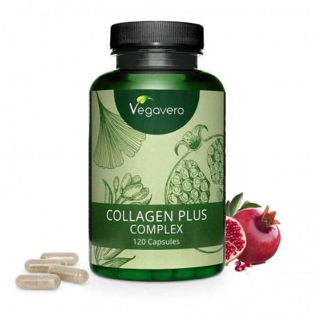 Vegavero Collagen Plus Complex Vegan (Collagen Booster) 120 Capsule