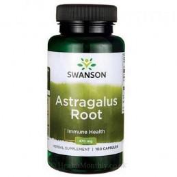 Astragalus radacina 470 mg 100 capsule
