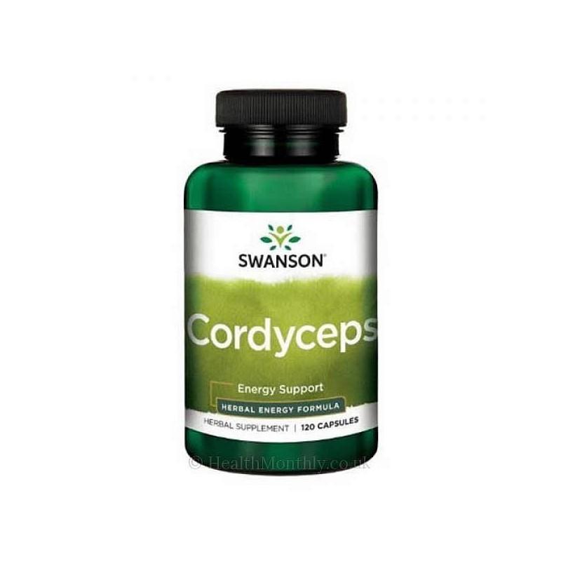 Cordyceps 600 mg 120 Capsule, prospect, pret, beneficii, efecte, pareri, indicatii