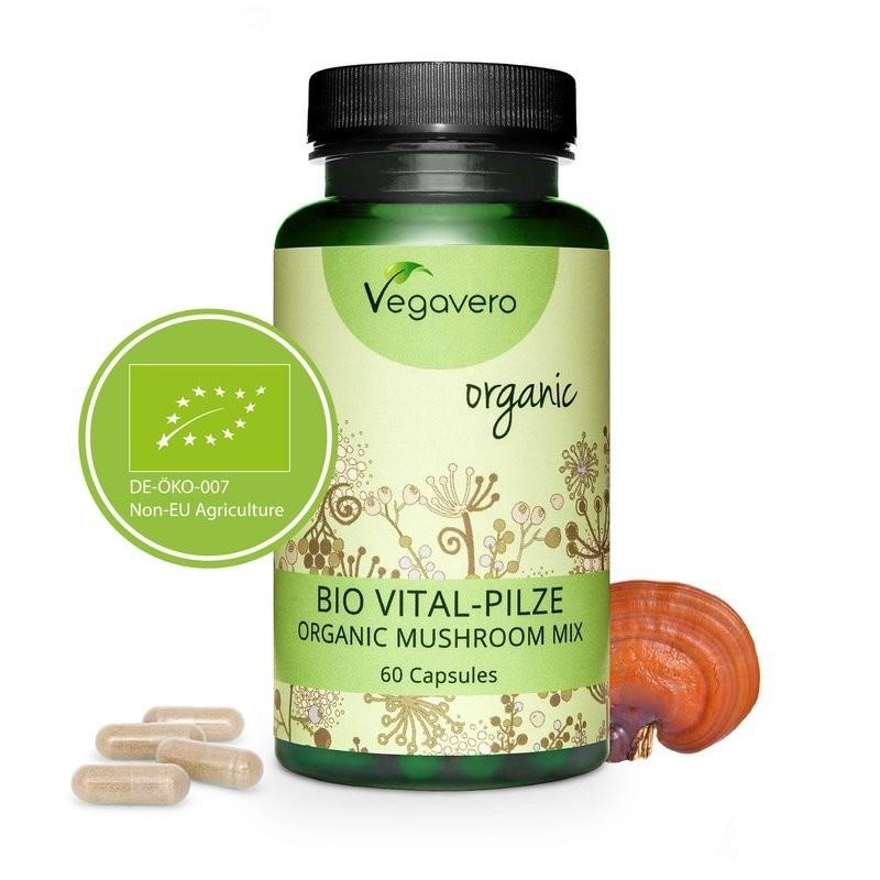 Complex Organic de ciuperci 60 Capsule