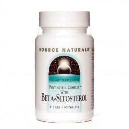 Beta-Sitosterol - 113 mg - 90 Tablete, pret, prospect, indicatii, doze, efecte, pareri, forum