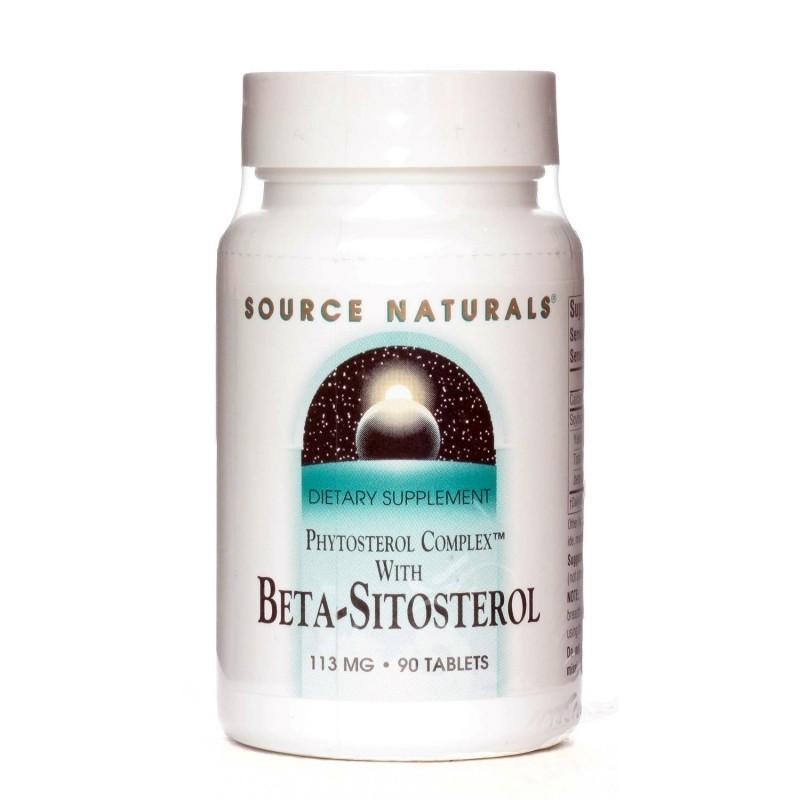 Beta-Sitosterol - 113 mg - 90 Tablete, pret, prospect, indicatii, doze, efecte, pareri, forum