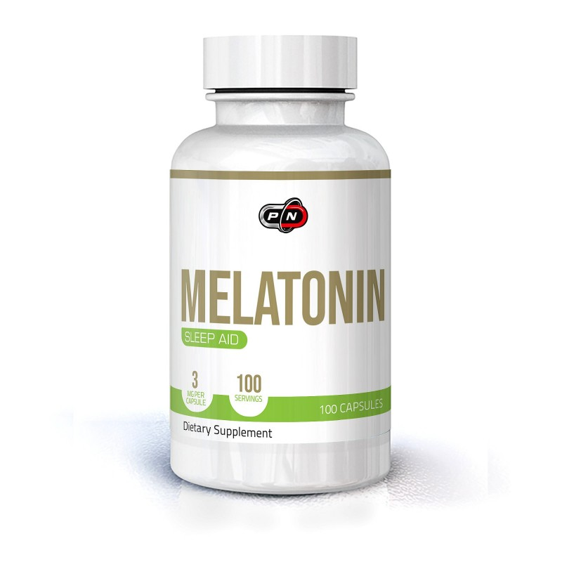Pure Nutrition USA Melatonina 3 mg - 100 capsule, somn odihnitor, relaxare Beneficii Melatonina: sustine somnul odihnitor, regla