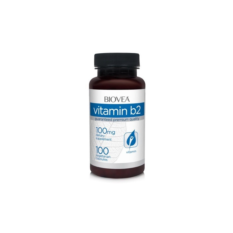 VITAMINA B2, 100mg, 100 Capsule