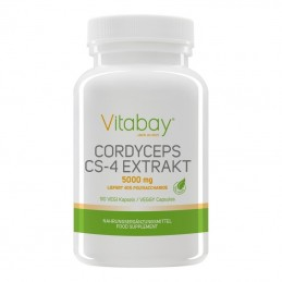 Cordyceps Extract CS-4 - 5000 mg 90 capsule Vegan, prospect, pret, beneficii, efecte, pareri, indicatii