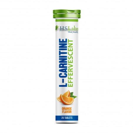 L-Carnitina efervescenta 1000 mg 20 tabete