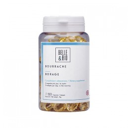 Ulei Borago Bio - Ulei de limba mielului Bio 120 gelule