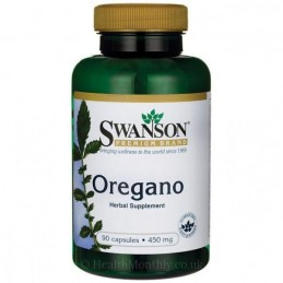Oregano 450mg 90 Capsule
