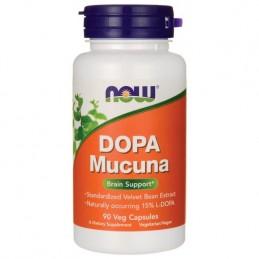 Now L-DOPA Mucuna 90 Capsule