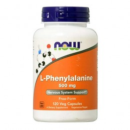 Now L-Phenylalanine 500mg 120 Capsule (L-Phenylalanine)