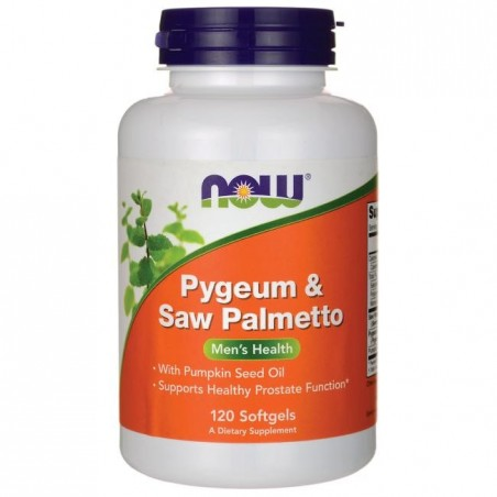 Now Pygeum & Saw Palmetto 120 Capsule