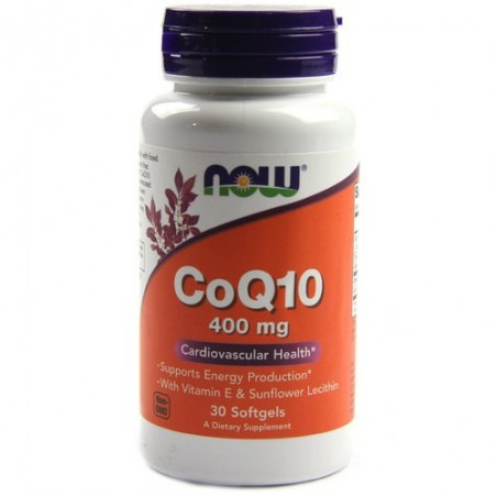 Now Foods Coenzima Q10 Forte 400mg 30 Capsule
