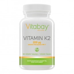 Vitamina K2 MK-7 200 mcg - 90 Tablete vegane