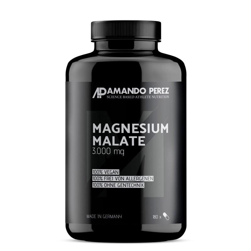 Malat de Magneziu 3000 mg pe doza - 180 Comprimate Vegane
