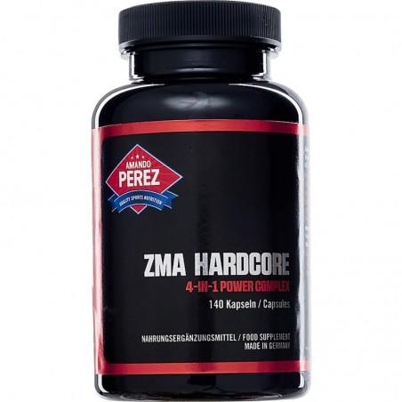 ZMA Hardcore - Zinc, Magneziu, B6 140 Capsule