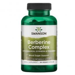 Berberine Complex 90 Capsule, berberina hcl pentru diabet, regleaza nivelul zaharului