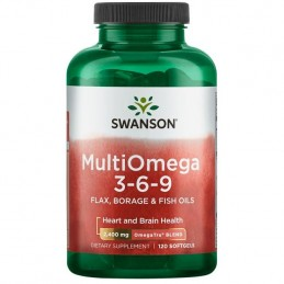 Omega 3•6•9 1200 mg 120 Gelule moi, Ulei de peste, ulei de in, ulei de Borago, Ulei Luminita de seara