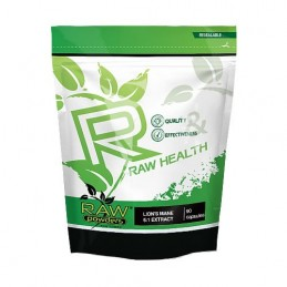 Raw Powders Lion's Mane 5:1 Extract 500 mg 90 Capsule