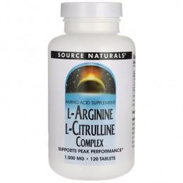 L-Arginine si L-Citrulline Complex 120 Pastile