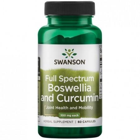 Full Spectrum Boswellia (Tamaie) & Curcumin 60 Capsule