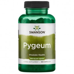 Pygeum 500 mg 100 Capsule