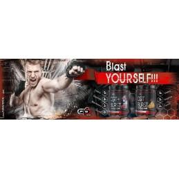 CGT Blast – 300 grame, 3 celor mai populare ingrediente: creatina, glutamina si taurina.
