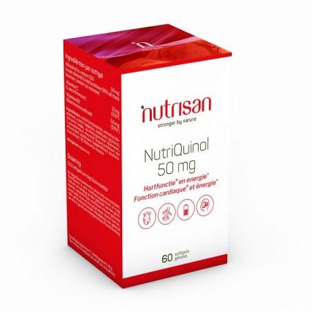 Nutrisan NutriQuinol (Coenzima Ubiquinol Q10) 50 mg 60 Capsule