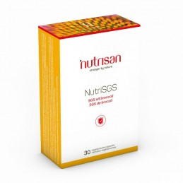NutriSGS (Extract Broccoli) 30 Capsule, Extract de semințe de broccoli standardizat, sulforaphane glucosinolat