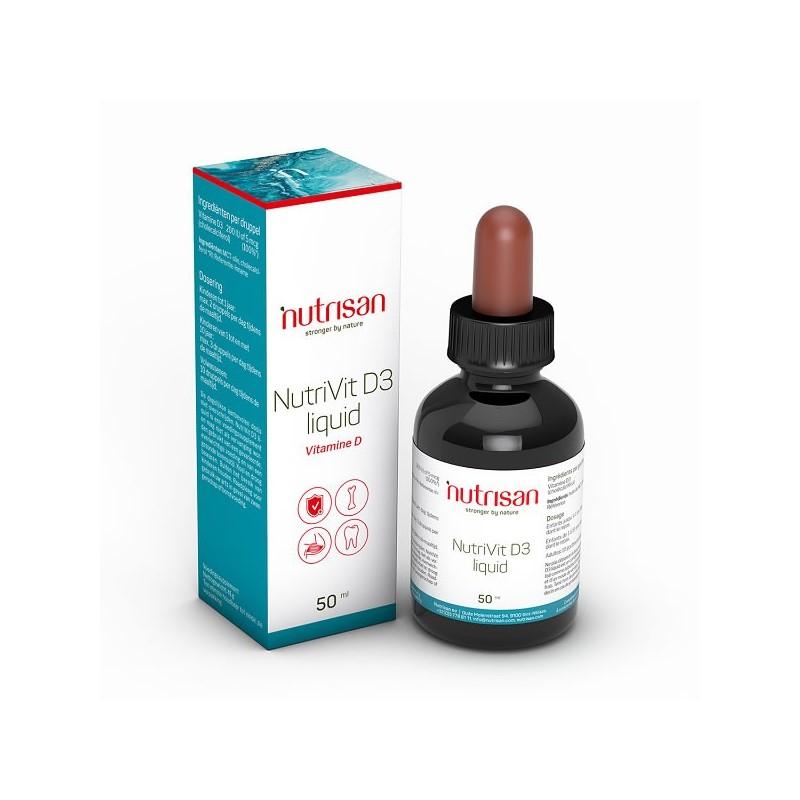 NutriVit D3 (Vitamina D3 picaturi lichida) 50 ml
