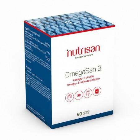 Nutrisan OmegaSan 3 (Ulei peste 1000mg) 60 gelule