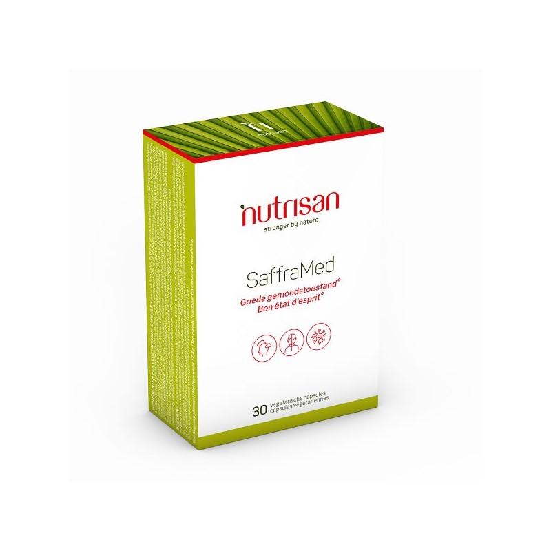 SaffraMed (Extract Sofran) 30 Capsule, inositol, curcuma, Vitamina B6, B12 si D3, Zinc, Acid Folic