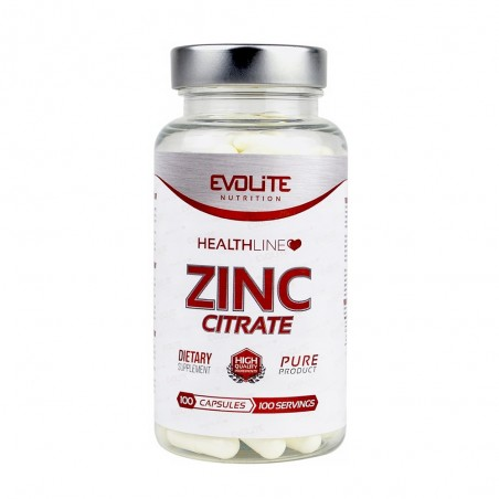 Evolite Zinc Citrate 50 mg 100 Capsule