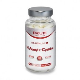 N-Acetyl L-Cysteine - 300mg - 100 Capsule, N-Acetil Cisteina, pret, beneficii, prospect, doze