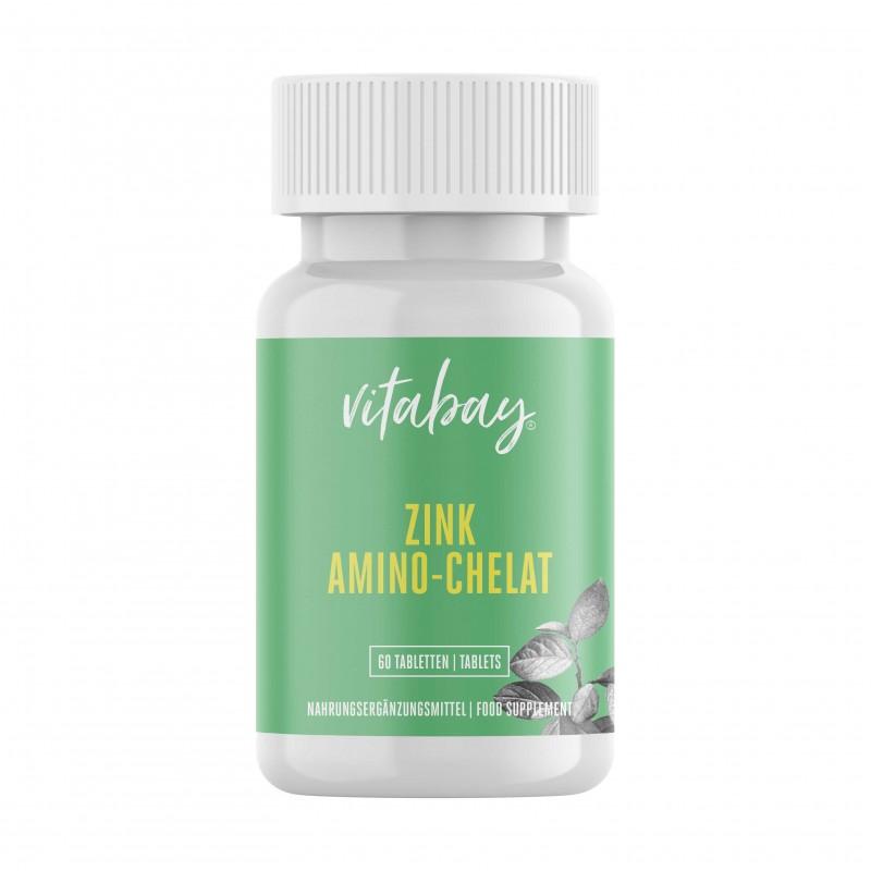 Zinc Amino-Chelat 120 portii cu 15 mg zinc pe jumatate de comprimat - doza mare - 60 comprimate
