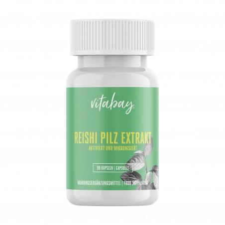 Extract de ciuperci Reishi, 500 mg, 90 Capsule vegan